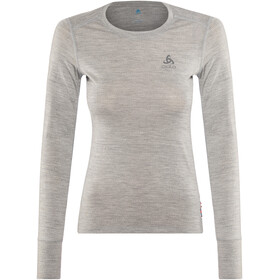 Odlo Suw Natural LS Top Crew Women grey melange-grey melange
